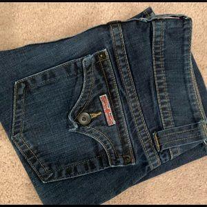 Hudson Dark Denim Bootcut Jeans Size 24